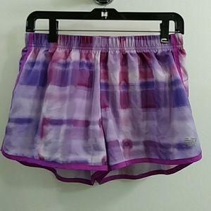 [New Balance] Purple Active Running Track Shorts